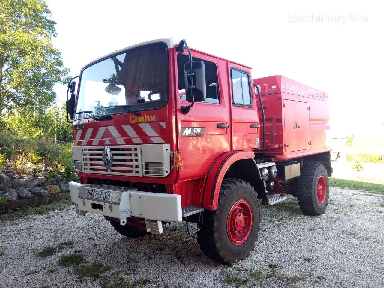 RENAULT M180 4x4 - CCF4000 fire truck